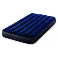Надувной матрас Intex Classic Downy Airbed Fiber-Tech, 99х191х25см 64757
