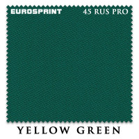 Сукно Eurosprint 45 Rus Pro 198см Yellow Green 60М