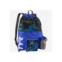 Рюкзак TYR Big Mesh Mummy Backpack, LBMMB3/428, голубой