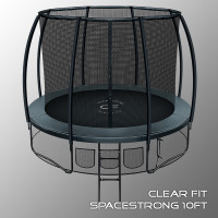 Батут Clear Fit SpaceStrong 10ft 305 см